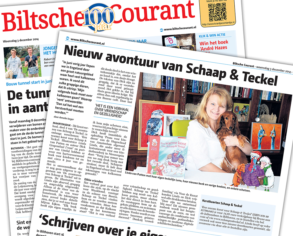 Artikel in de Biltsche Courant