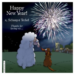 Happy New Year Schaap&Teckel